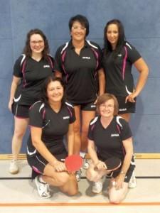 Erfolgreiche Damen-Mannschaft