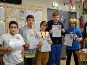 Vereinsmeister Gruppe 1