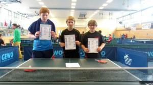 3. Platz im Hessen-Pokal der A-Schüler